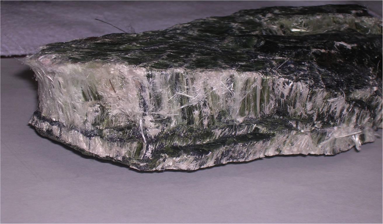 アスベスト(石綿)鉱石